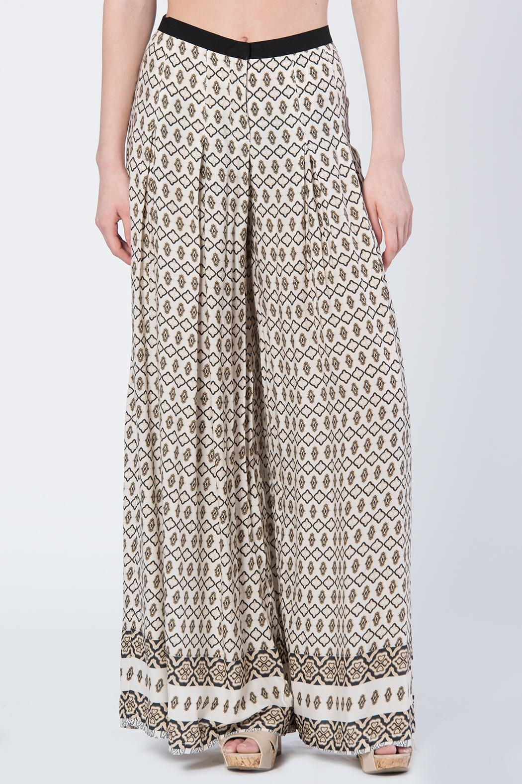 BEULAH STYLE Beulah Print Pants - Front Cropped Image