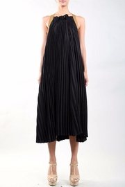 BEULAH STYLE Black Accordian Dress - Product Mini Image
