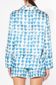 BEULAH STYLE Blue Heart Top - Alternate List Image