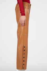 BEULAH STYLE Camel Leather Pants - Other