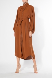 BEULAH STYLE Cinnamon Midi Dress - Front cropped