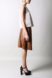 BEULAH STYLE Faux Croc Skirt - Other