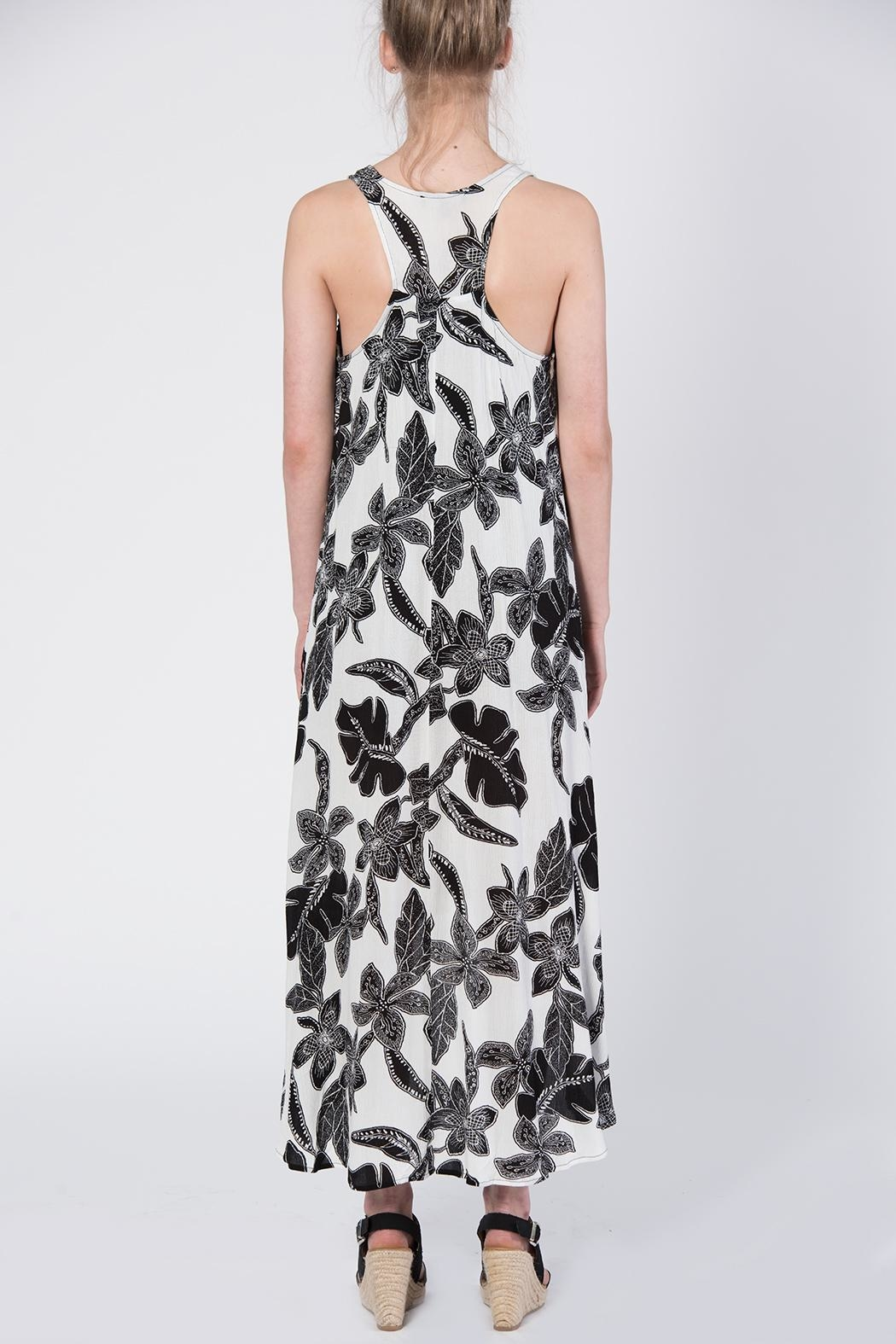 BEULAH STYLE Floral High Low Dress - Side Cropped Image