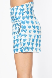 BEULAH STYLE Heart Satin Shorts - Front full body