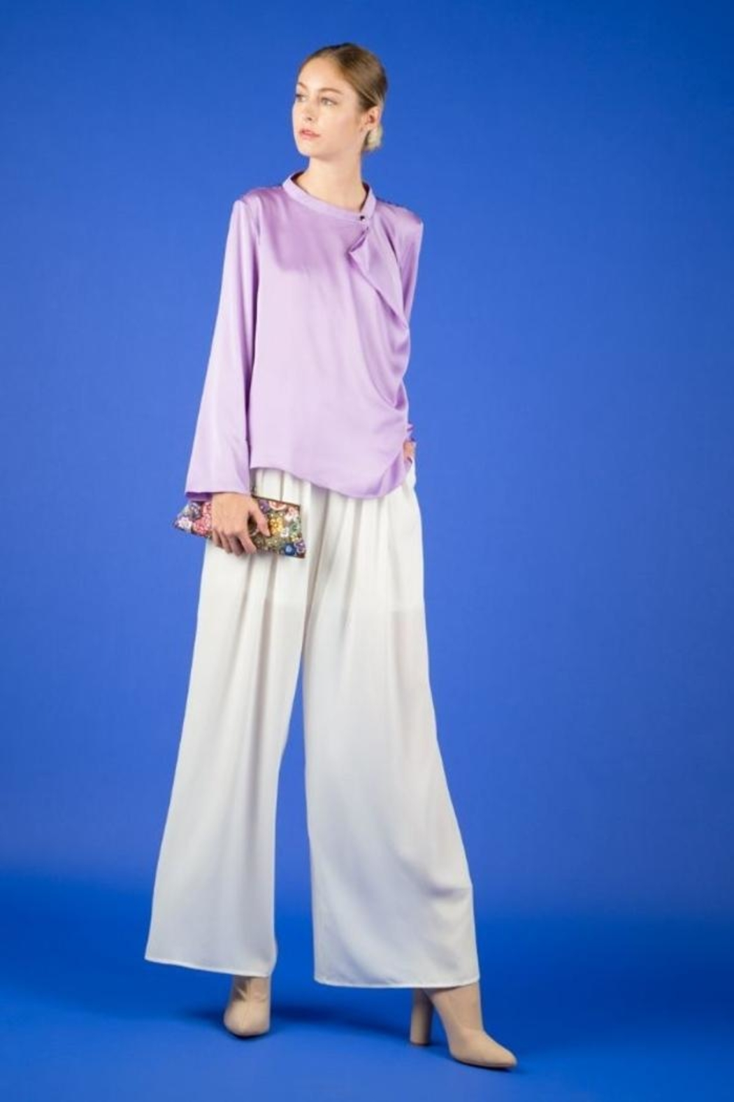 BEULAH STYLE Lavender Sequin Top - Main Image