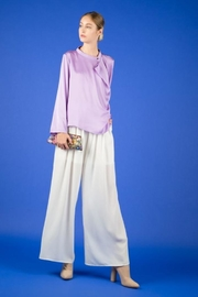 BEULAH STYLE Lavender Sequin Top - Front cropped