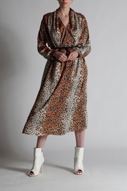 BEULAH STYLE Leopard Shirt Dress - Product Mini Image