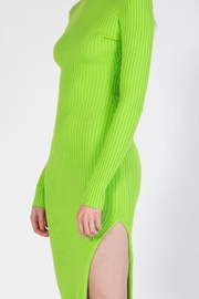 BEULAH STYLE Lime Sweater Dress - Other
