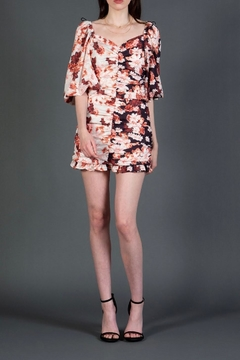 BEULAH STYLE Reverse Floral Minidress - Product List Image