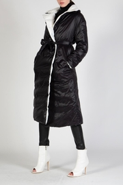 BEULAH STYLE Reversible Puffer Coat - Front cropped