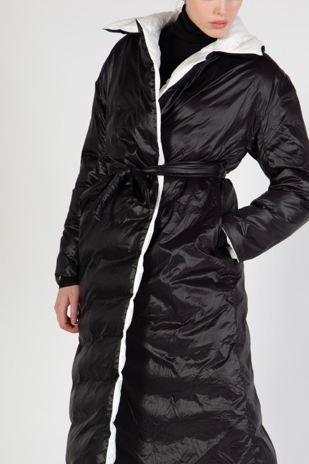 BEULAH STYLE Reversible Puffer Coat - Side Cropped Image