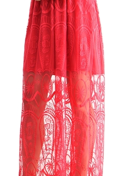 BEULAH STYLE Rose Red Dress - Alternate List Image