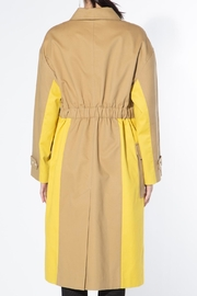 BEULAH STYLE Two Tone Trench Coat - Other