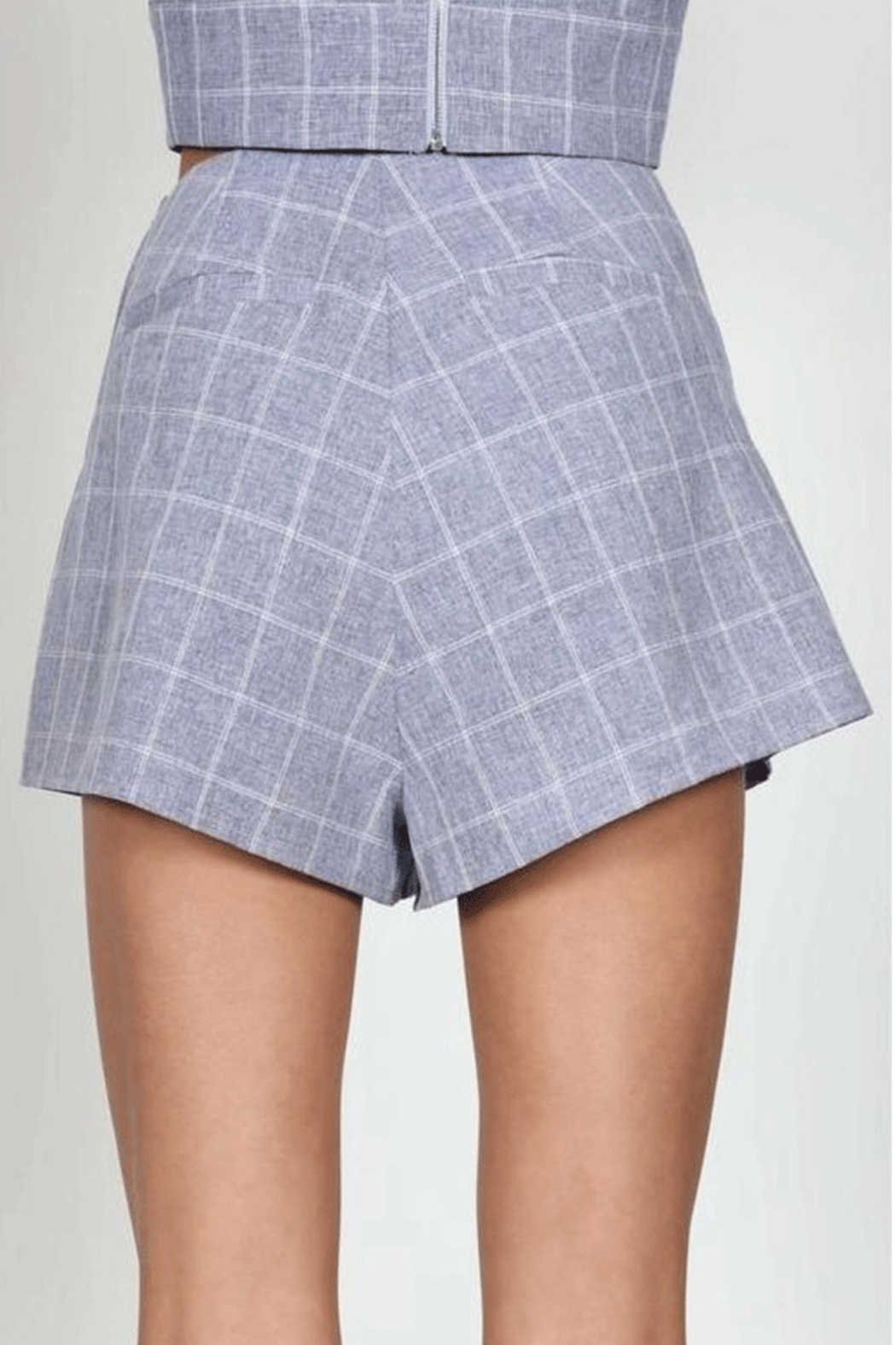Earthy Chic Bev Bow Shorts - Side Cropped Image