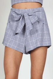 Earthy Chic Bev Bow Shorts - Front cropped
