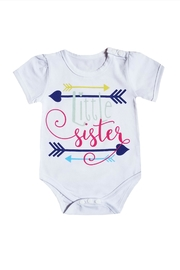 BEVA Baby Sister Onesie - Front cropped