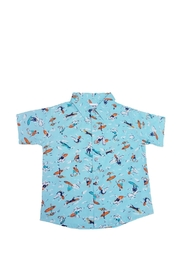 BEVA Boys Surfing Button-Shirt - Product Mini Image