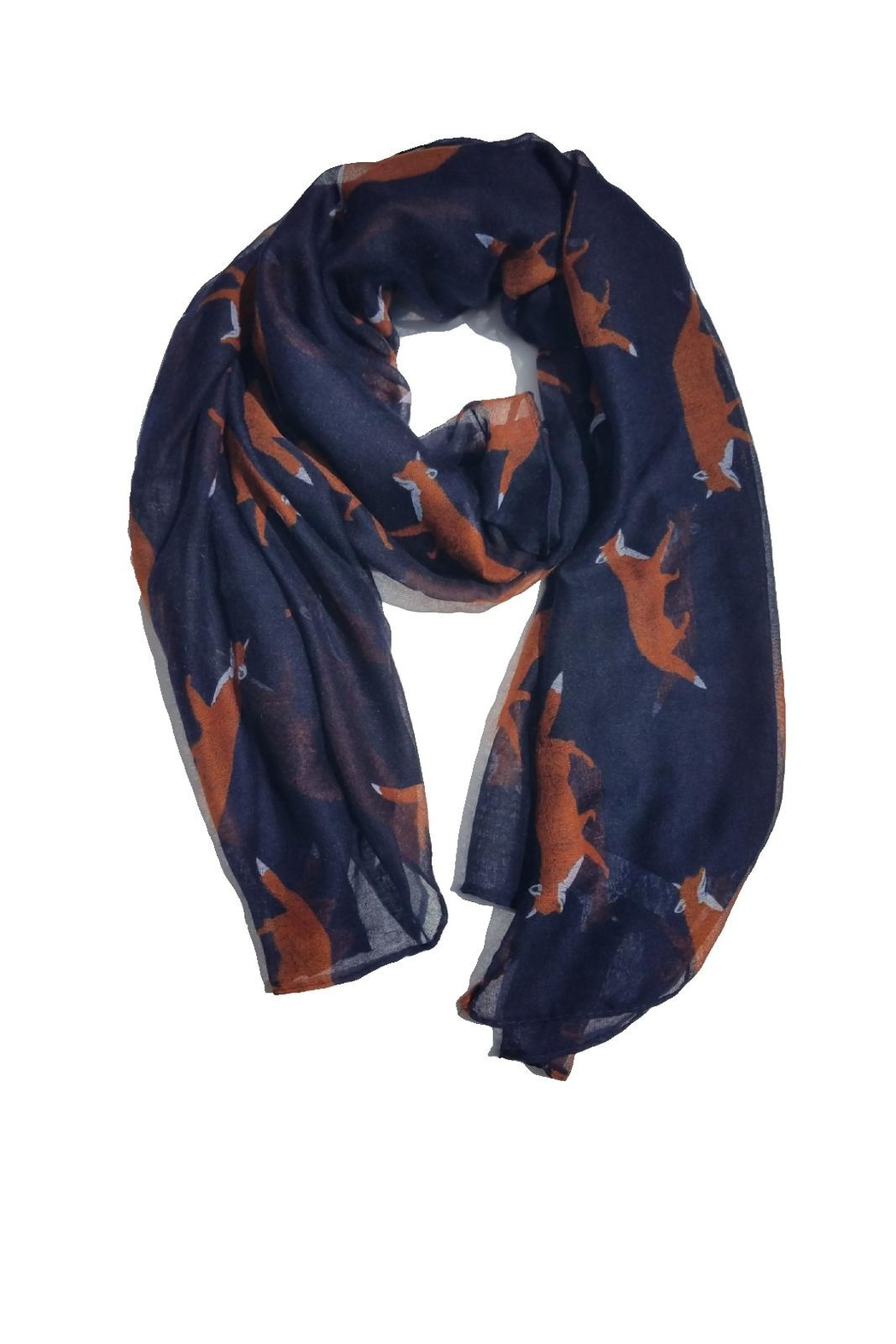 BEVA Fox Scarf - Front Cropped Image