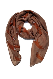 BEVA Fox Scarf - Front cropped