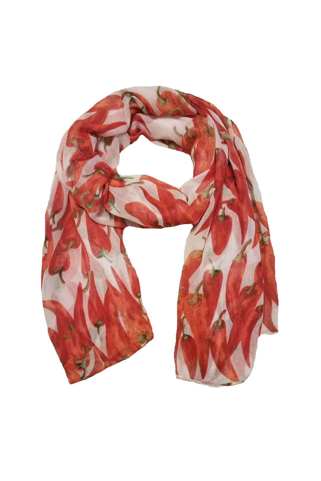 BEVA Red Peppers Scarf - Main Image