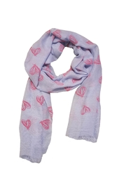 BEVA Scarf With Hearts - Product Mini Image