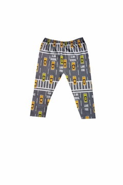 Shoptiques Product: Yellow Taxi Baby Leggings