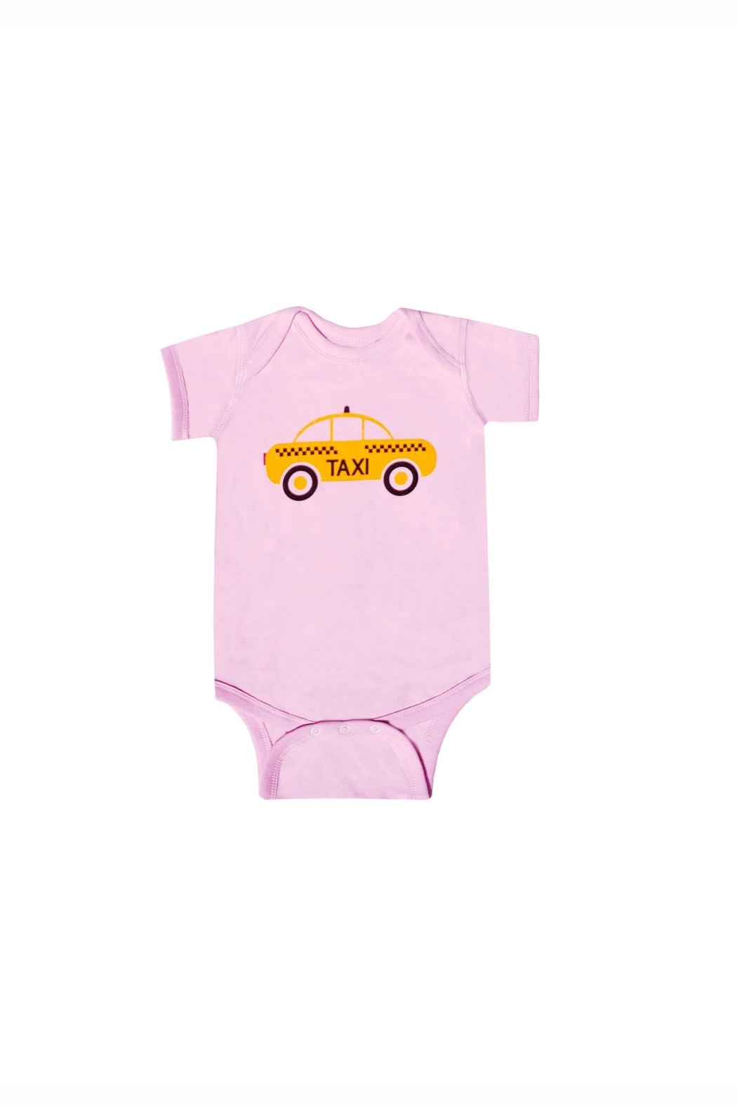 BEVA Yellow Taxi Onesie - Front Cropped Image