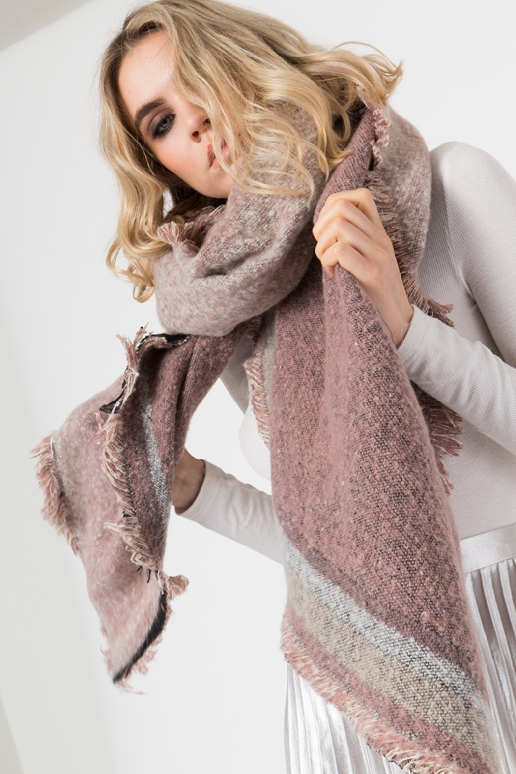 Pia Rossini BEXLEY SCARF - Front Full Image
