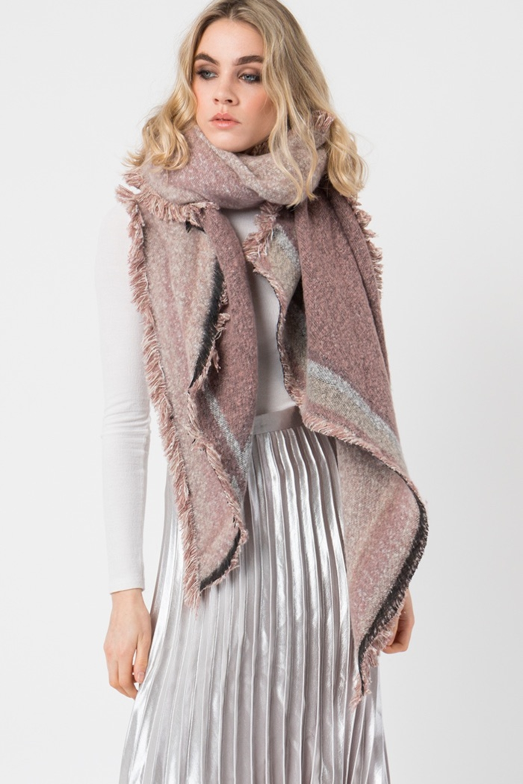 Pia Rossini BEXLEY SCARF - Front Cropped Image