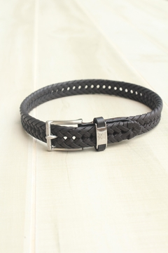 Beyond Creations Leather Braided Belt - Product List Image