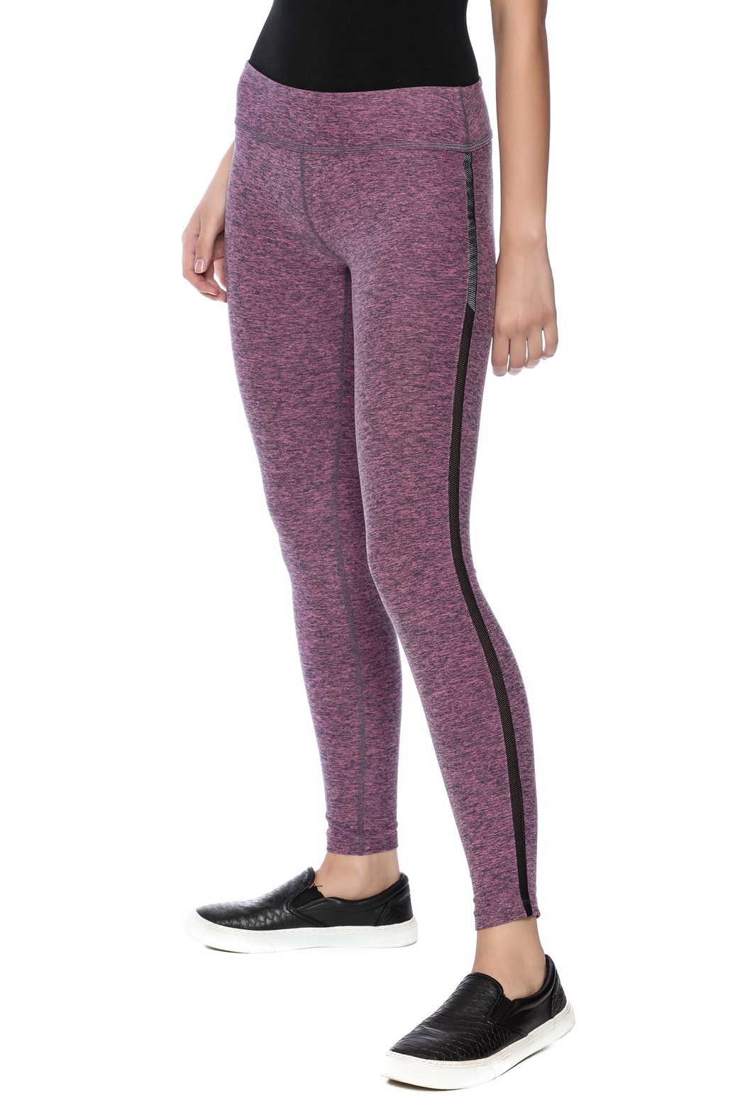 Beyond Yoga Lattice Side Long Legging From Iowa By Namaste