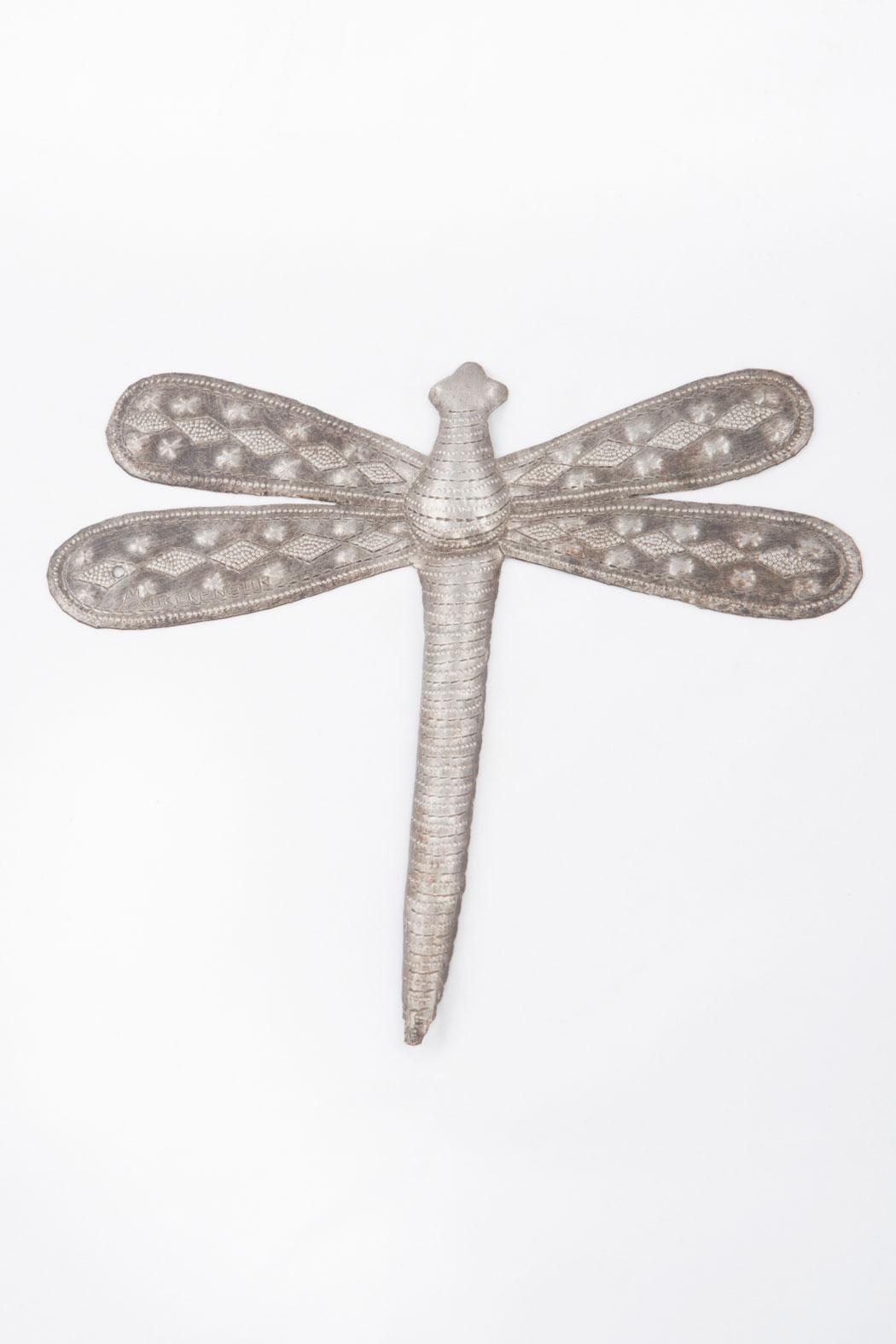 Beyond Borders Recycled Metal Dragonfly - Main Image