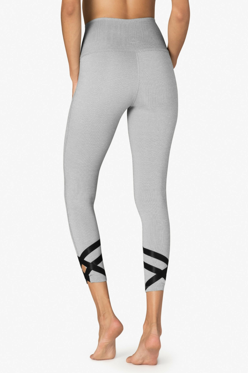 Beyond Yoga Ballet Strappy Leggings - Side Cropped Image