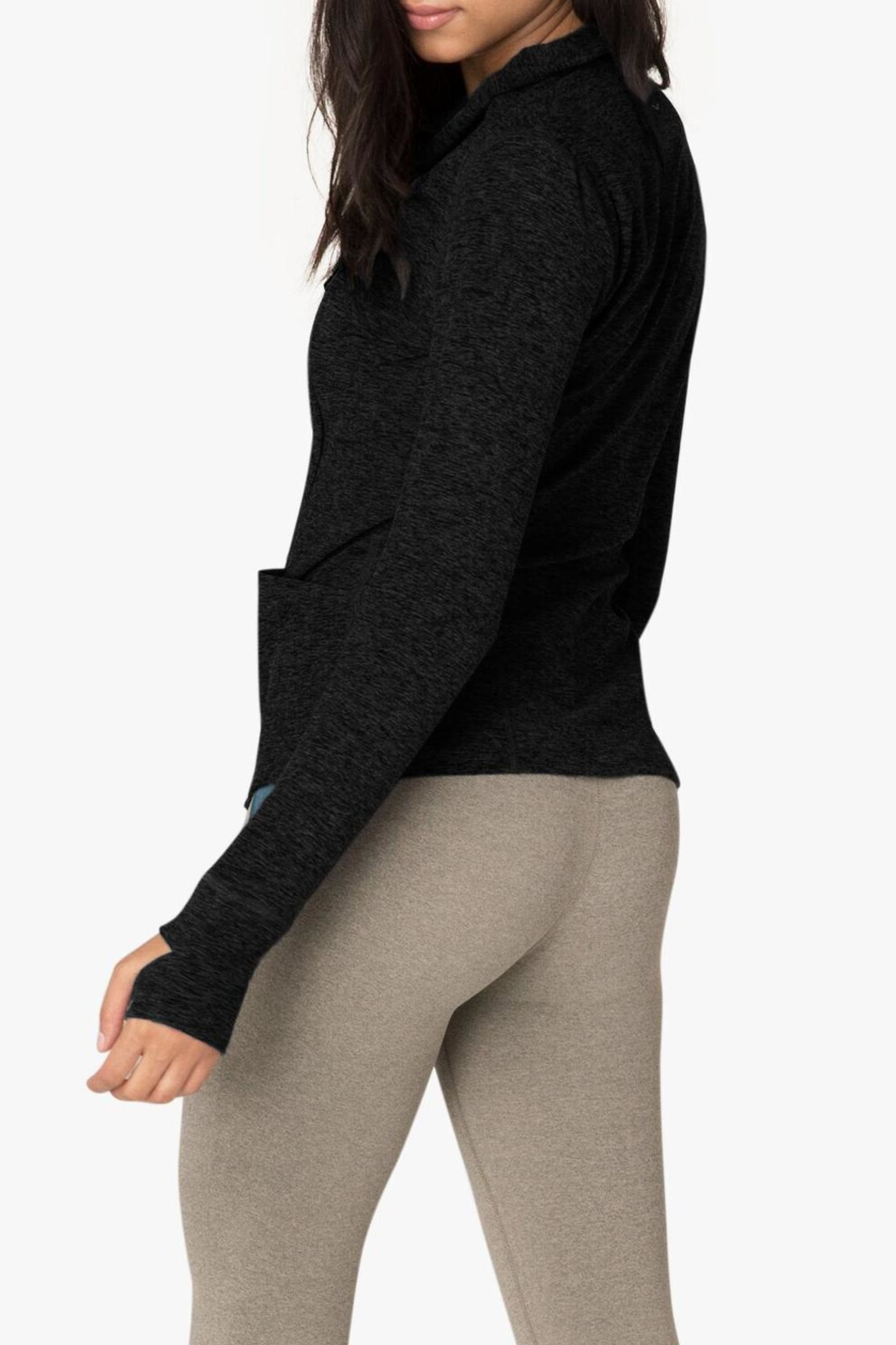 Beyond Yoga Chic Jacket - Side Cropped Image