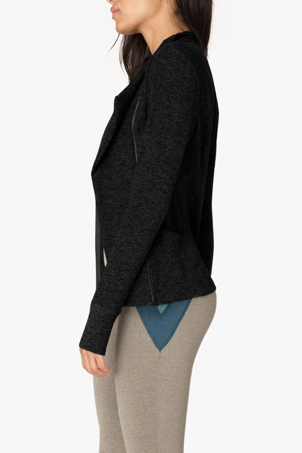 Beyond Yoga Chic Jacket - Front Full Image