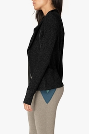 Beyond Yoga Chic Jacket - Front full body