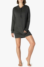 Beyond Yoga Cozy Hoodie Dress - Front cropped