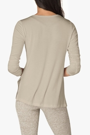 Beyond Yoga Criss-Cross Pullover - Side cropped