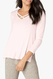 Beyond Yoga Criss-Cross Pullover - Product Mini Image