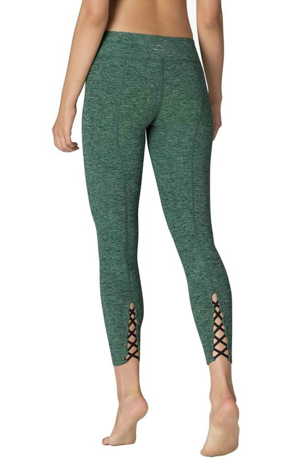 Beyond Yoga Cross Back Legging - Front Cropped Image
