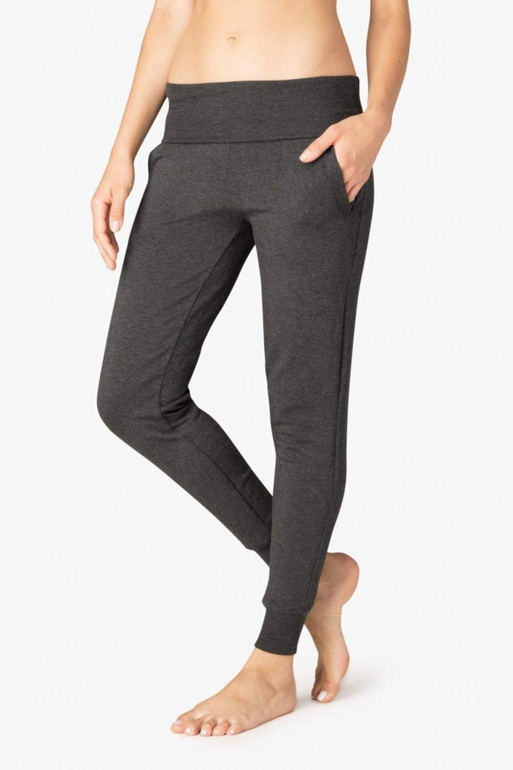 Beyond Yoga Fleece Foldover Sweatpant - Main Image