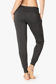 Beyond Yoga Fleece Foldover Sweatpant - Side cropped