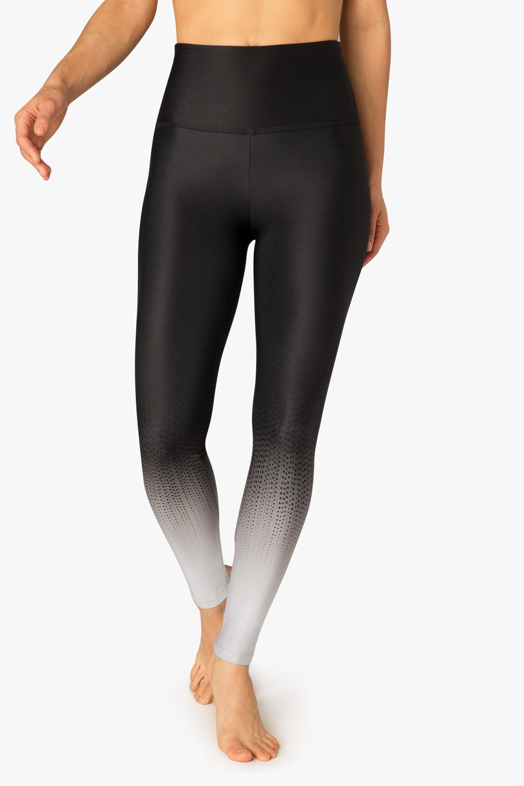 Beyond Yoga High Waisted Legging - Front Cropped Image