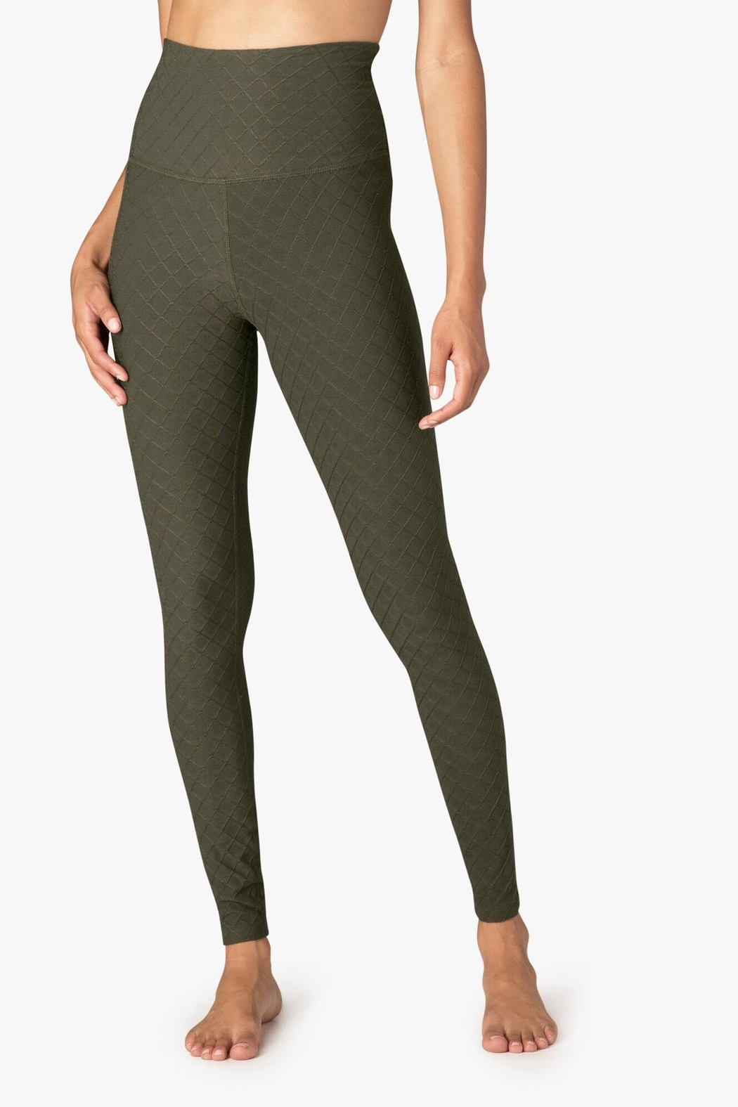 Beyond Yoga High Waisted Leggings - Front Cropped Image