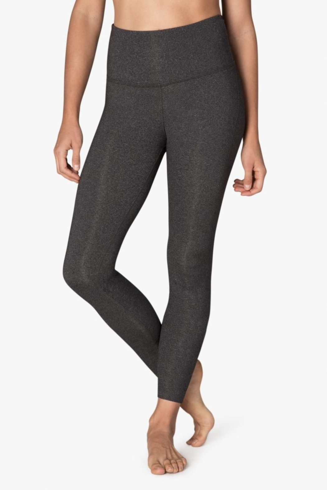 Beyond Yoga High-Waisted Midi Legging - Front Cropped Image