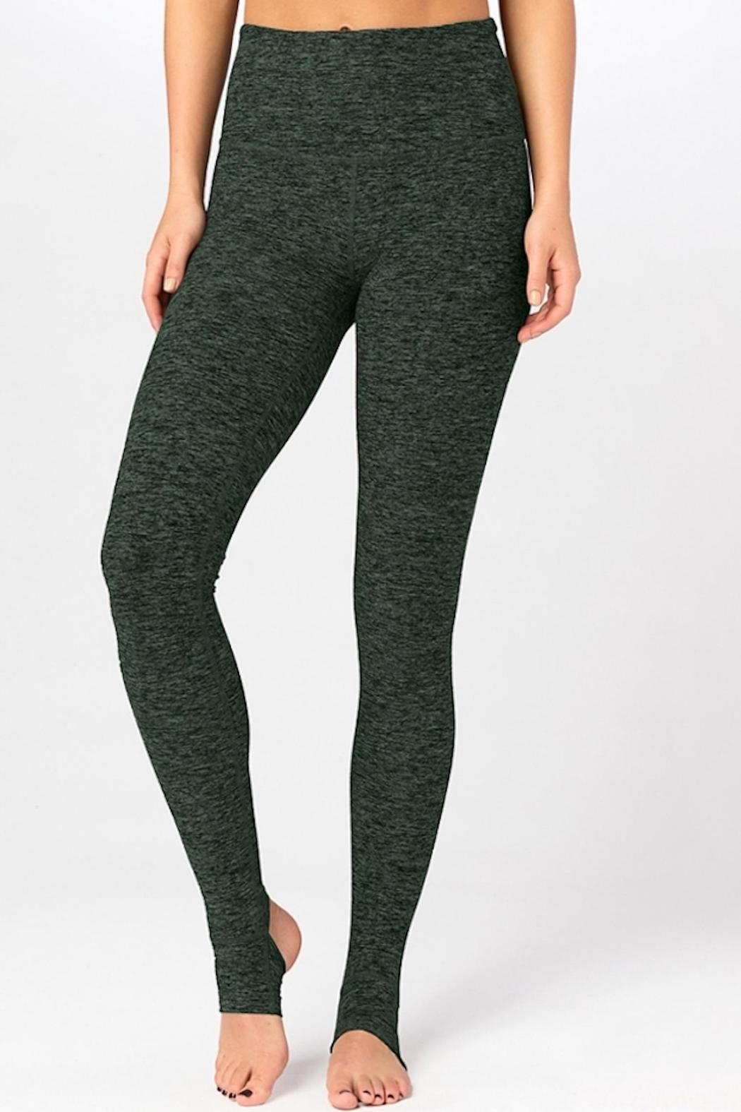 eed21e2e7932d4 Beyond Yoga High-Waisted Stirrup Leggings from Hawaii by Yoga ...