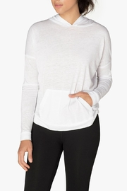 Beyond Yoga Hooded Pullover - Front cropped