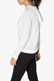 Beyond Yoga Hooded Pullover - Front full body