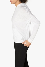 Beyond Yoga Hooded Pullover - Back cropped
