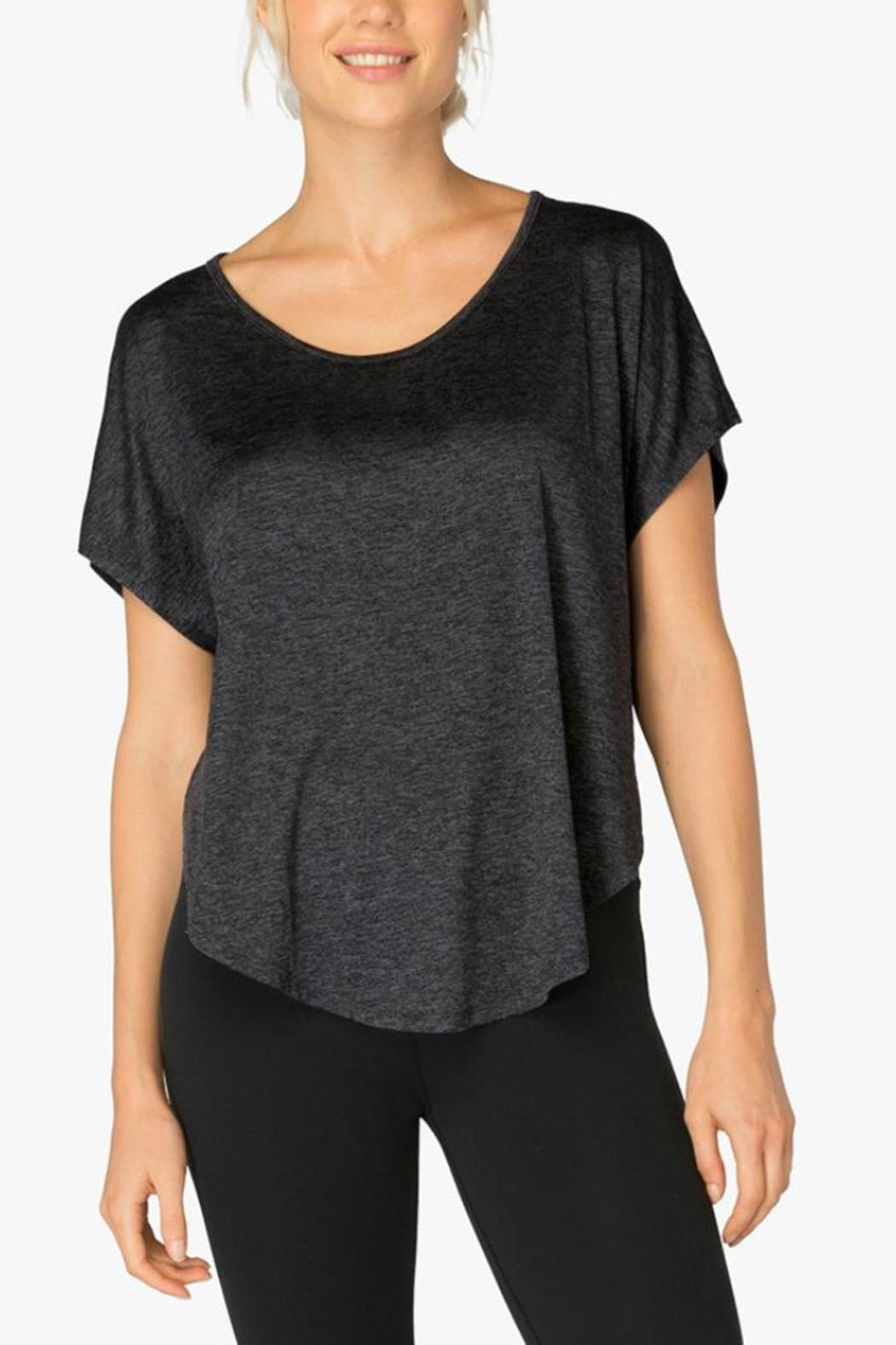 Beyond Yoga Leading Lightweight Tee - Front Cropped Image